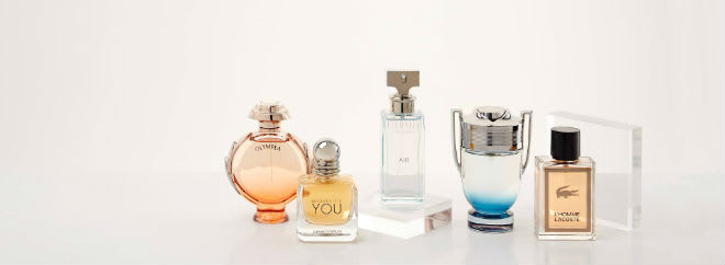 The perfume shop samples