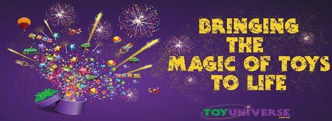 Toy Universe banner AU